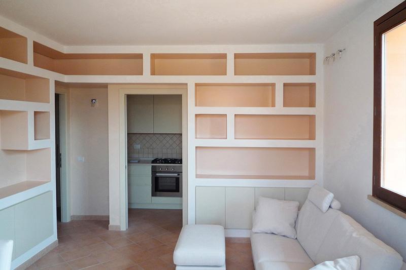 Decorpaint pareti divisorie attrezzate for Salotto cartongesso