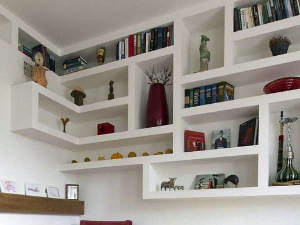 Favoloso pareti divisorie in cartongesso soggiorno ei84 for Idee per pareti divisorie
